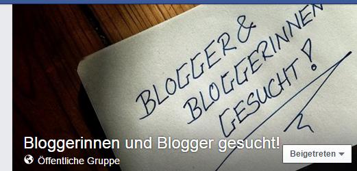 Blogger & Bloggerinnen gesucht!